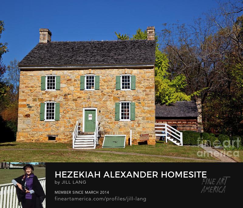 Hezekiah Alexander Homesite