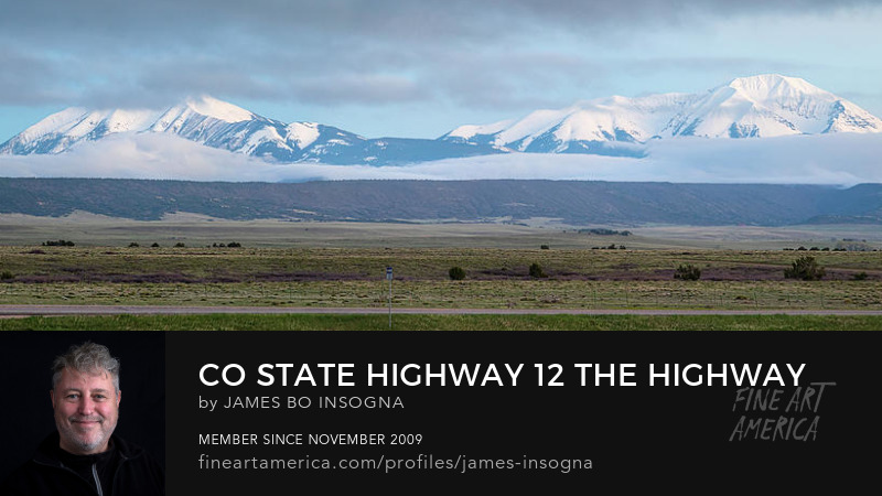 Colorado State Highway 12 - The Highway Of Legends Photography Prints