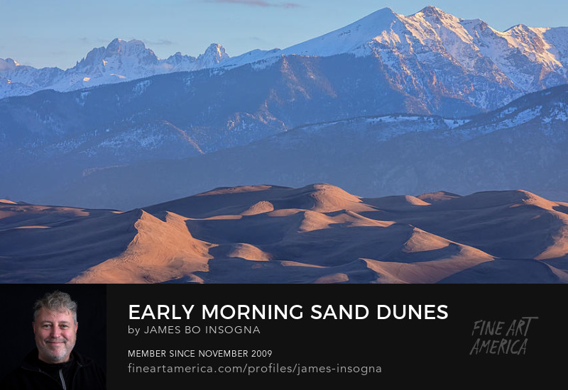 Great Sand Dunes Photography Art Prints
