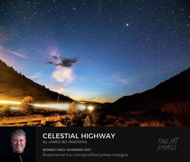 Celestial Highway Framed Art Prints