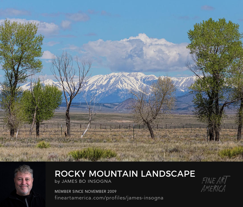 Sangre de Cristo Rocky Mountains Nature Landscape Photography Prints