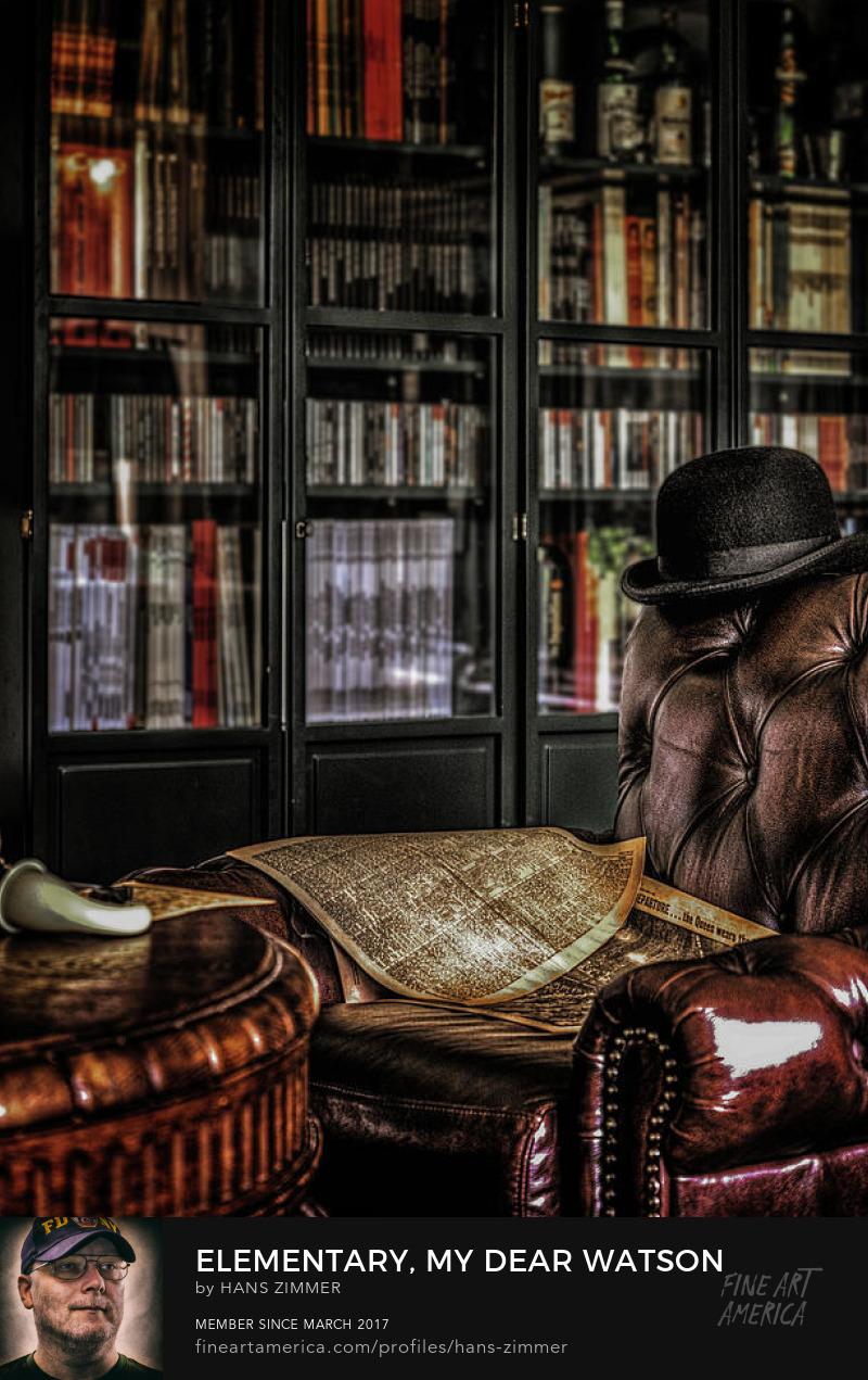 Inside 221b Baker St. London, England by hans zimmer
