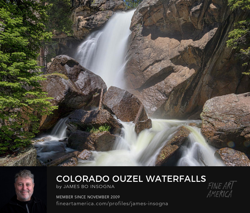 Colorado Ouzel Falls Art Prints