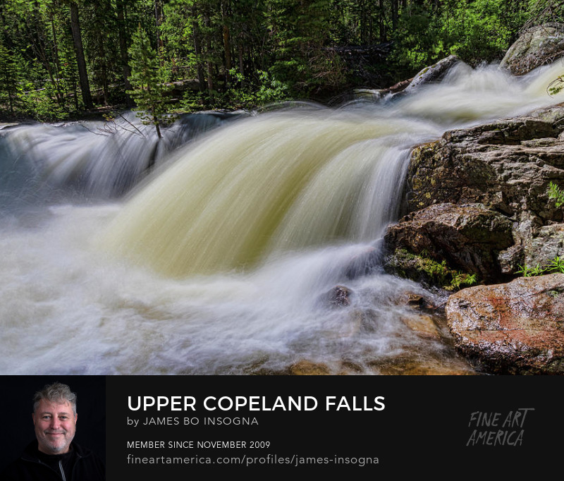 Beautiful Upper Copeland WaterFalls Photography Prints