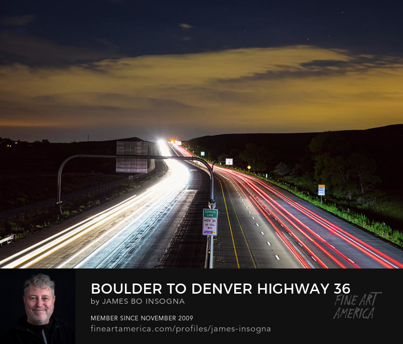 Highway 36 Express Lane Art Prints