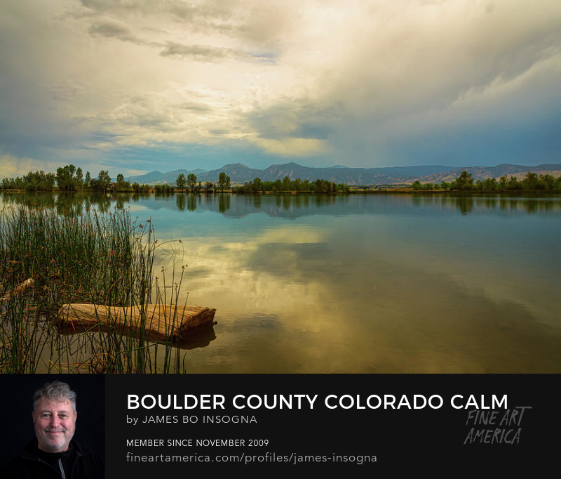 Coot Lake Boulder County Colorado Storming Photography Prints