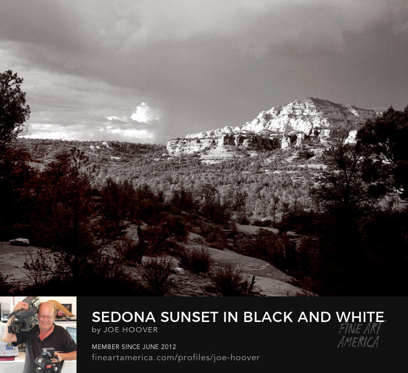 Sedona Art Prints by Joe Hoover