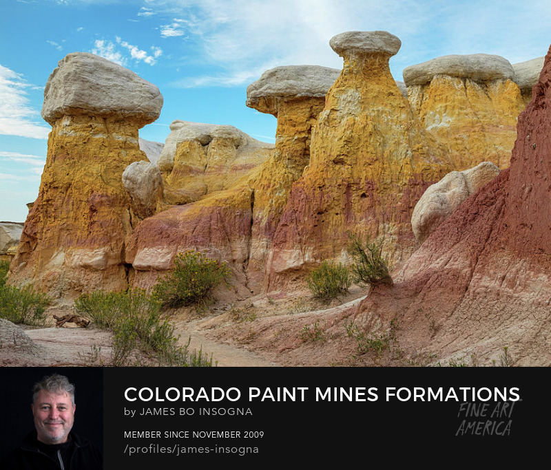 Colorado Paint Mines Formations Photography Prints