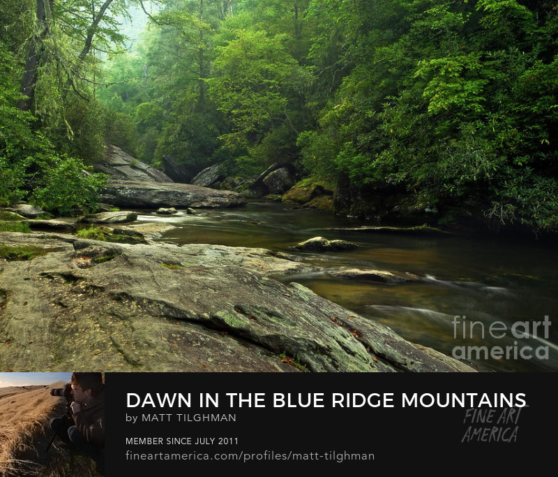 Blue Ridge Mountains Art Prints