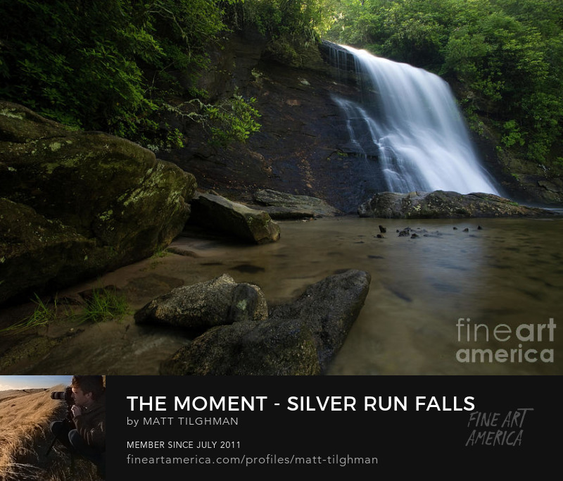 Silver Run Falls North Carolina Art Online