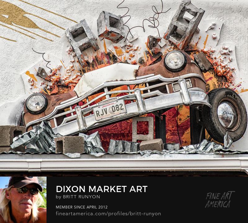 Dixon Market Art, New Mexico.