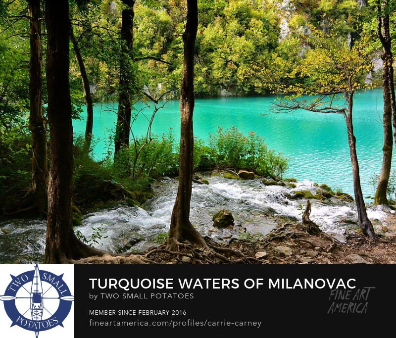 Plitvice National Park, Croatia print for sale on Fine Art America