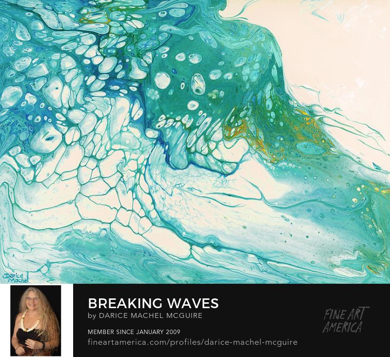 Breaking Waves by Darice Machel McGuire