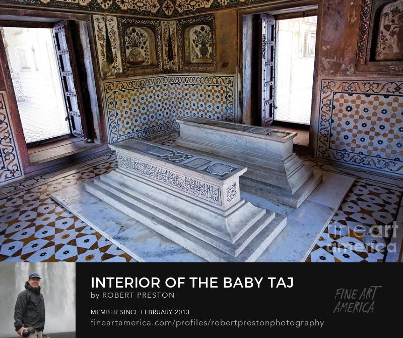 Baby Taj interior Agra