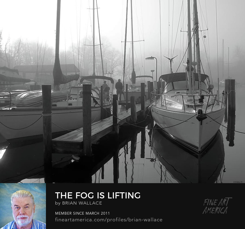 The Fog Is Lifting by Brian Wallace