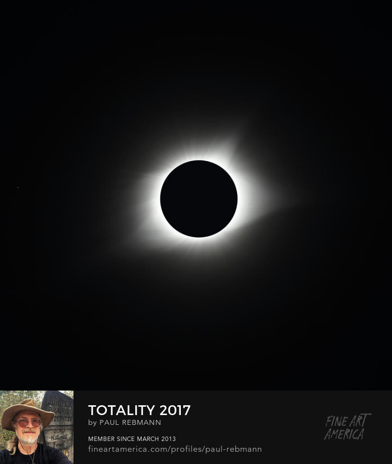 View online purchase options for Totality 2017 by Paul Rebmann