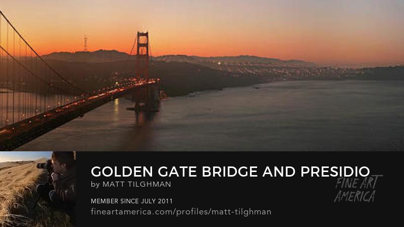 Golden Gate Bridge Dawn Art Prints