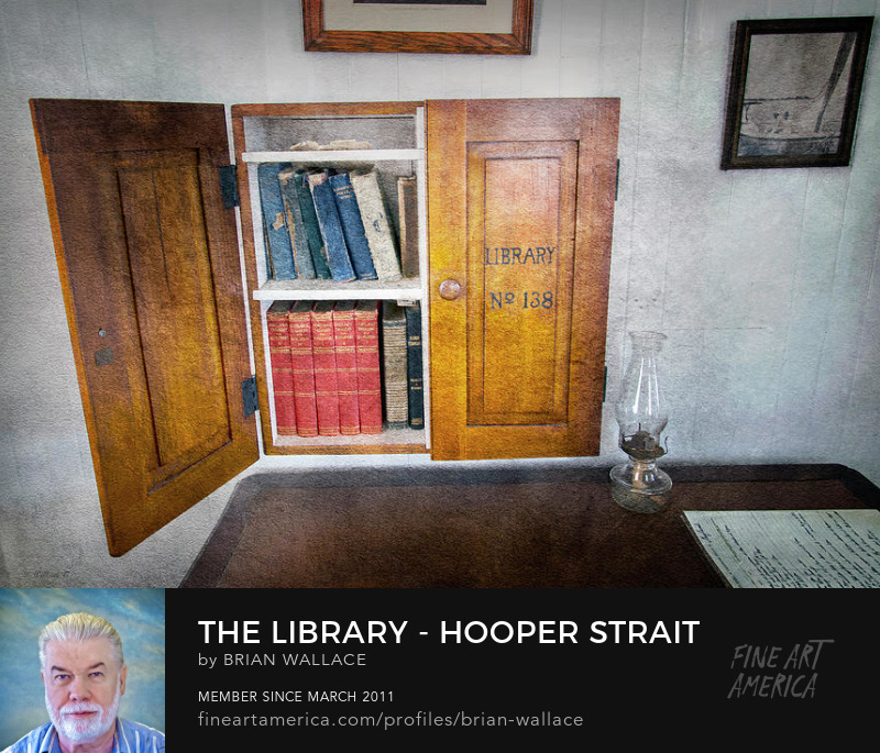 The Library Hooper Strait Lighthouse by Brian Wallace