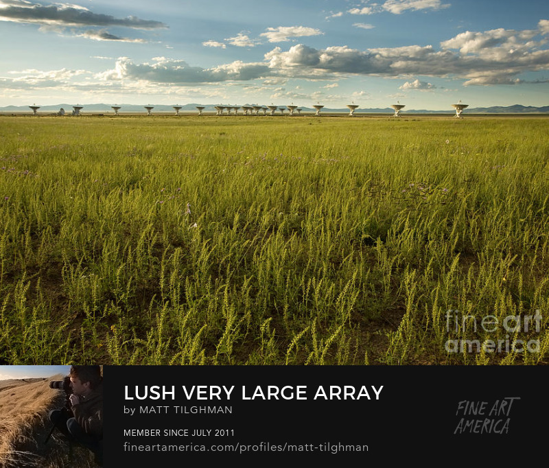 Very Large Array Art Online