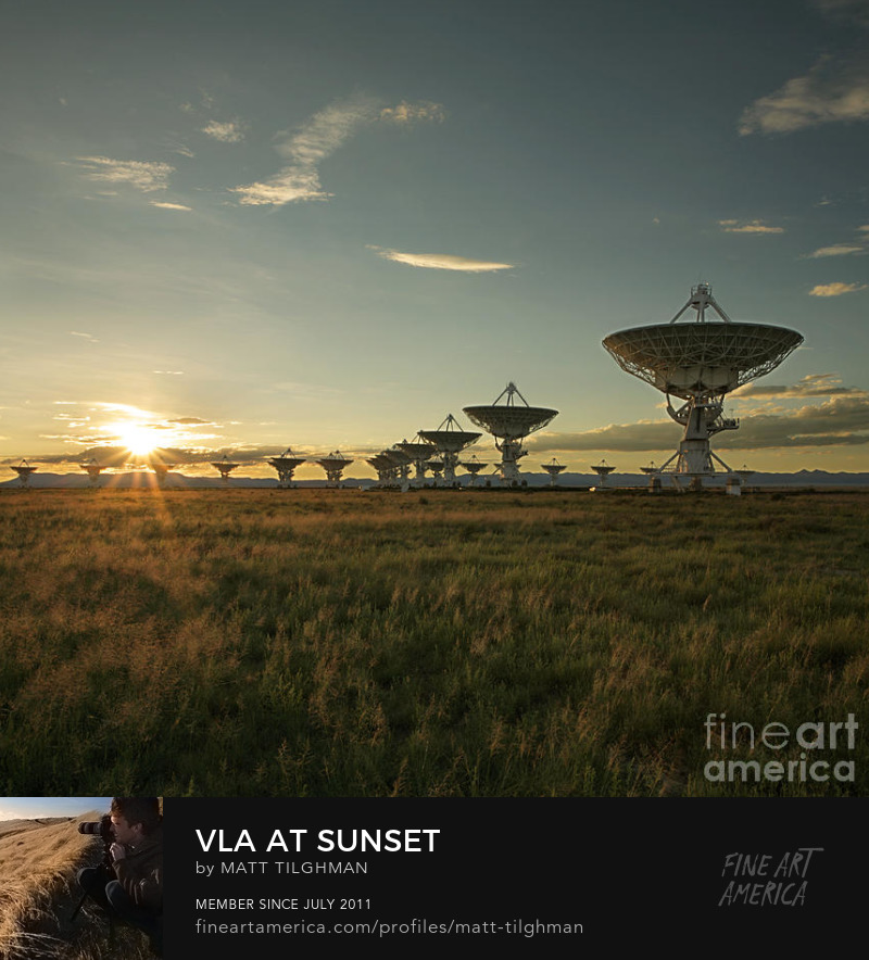 VLA at Sunset Art Online