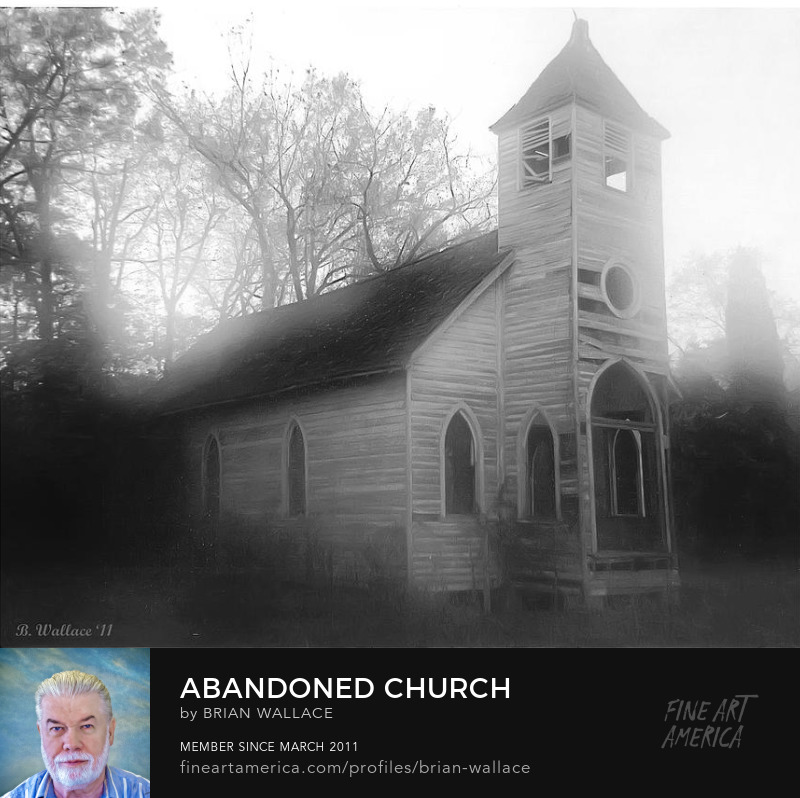 Abandoned Church by Brian Wallace