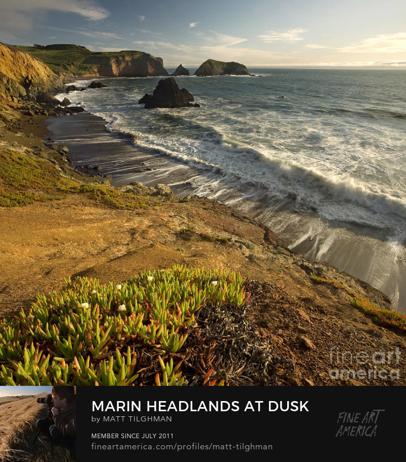 Marin Headlands Rodeo Beach Photography Prints