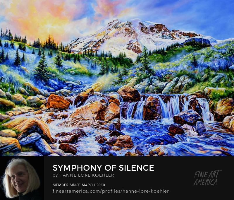 Mount Rainier Art Prints