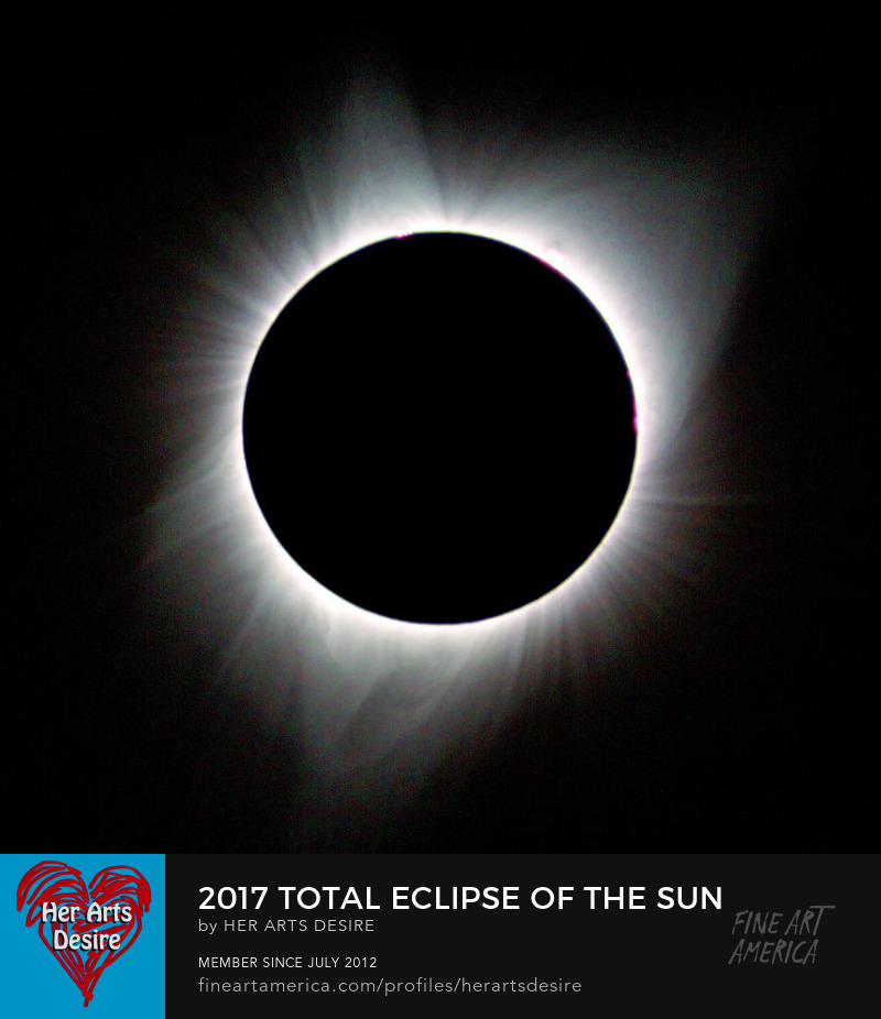 2017 Total Eclipse of the Sun by Patricia Sanders