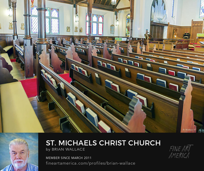 St Michaels Christ Church Interior by Brian Wallace