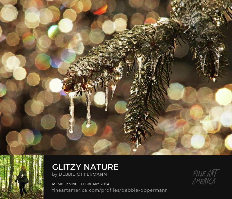 Glitzy Nature by Debbie Oppermann