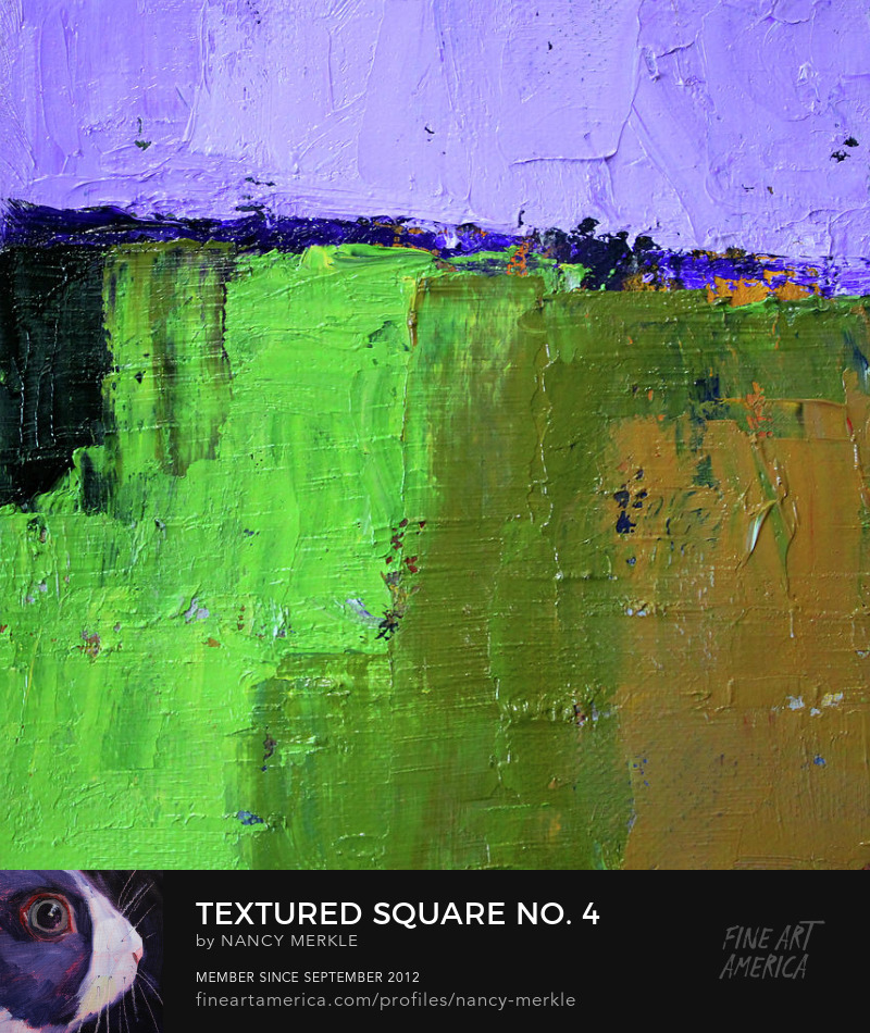 Square Abstract Art Prints