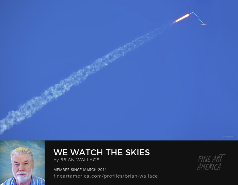 We Watch The Skies And They Watch Us by Brian Wallace