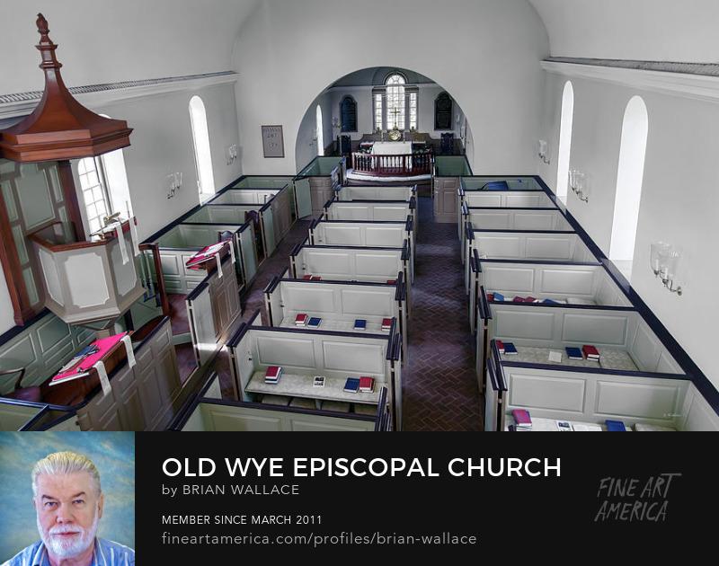 Old Wye Episcopal Church by Brian Wallace