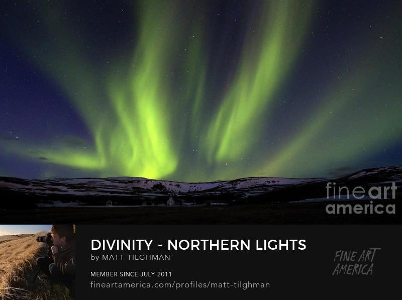 Northern Lights Iceland Art Online