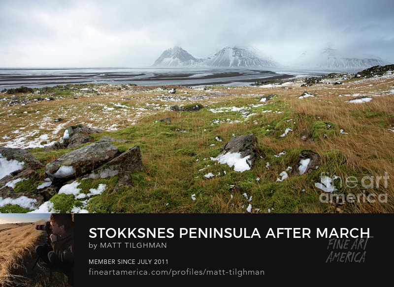Stokksnes Iceland Photography Prints