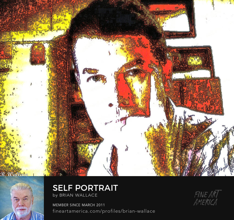 Self Portrait by Brian Wallace