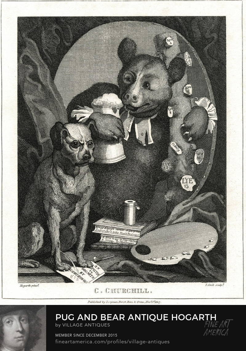 The Bruiser by Hogarth