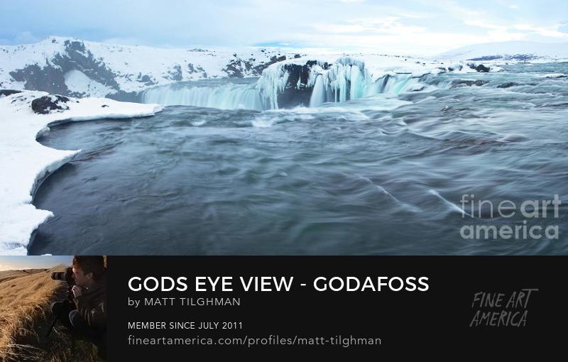 Godafoss Iceland Art Online