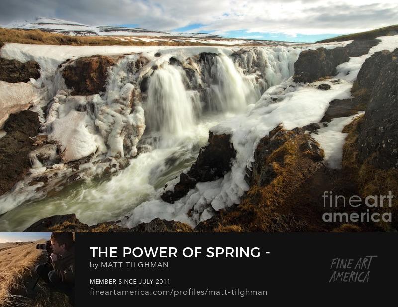 Kolufossar Iceland Art Online