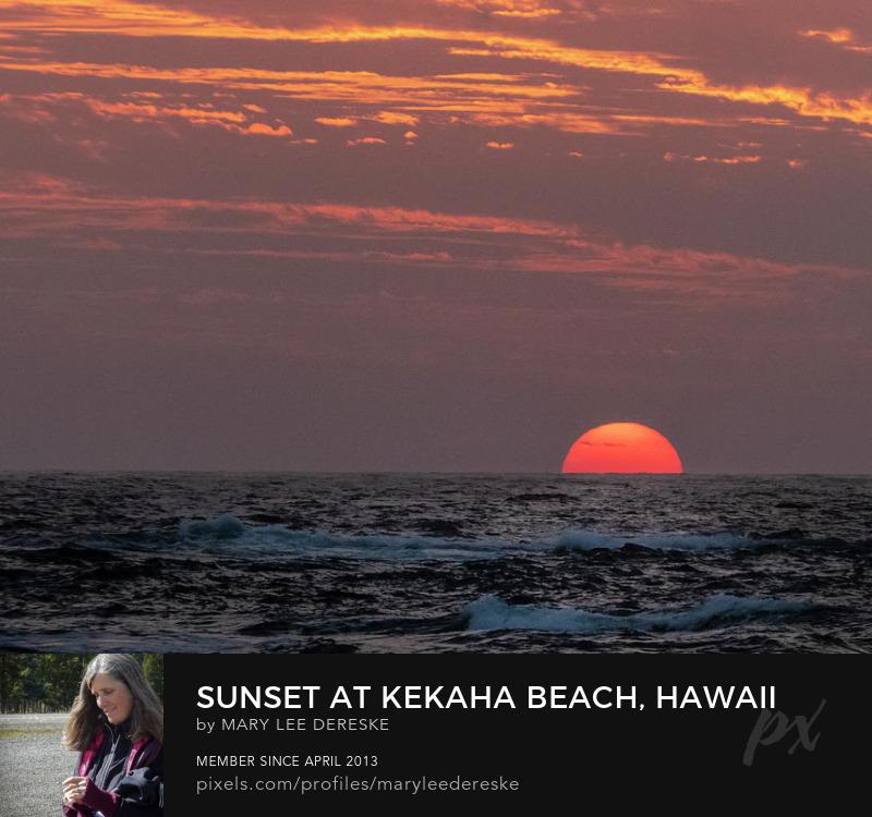 sunset-at-kekaha-beach-hawaii-mary-lee-dereske