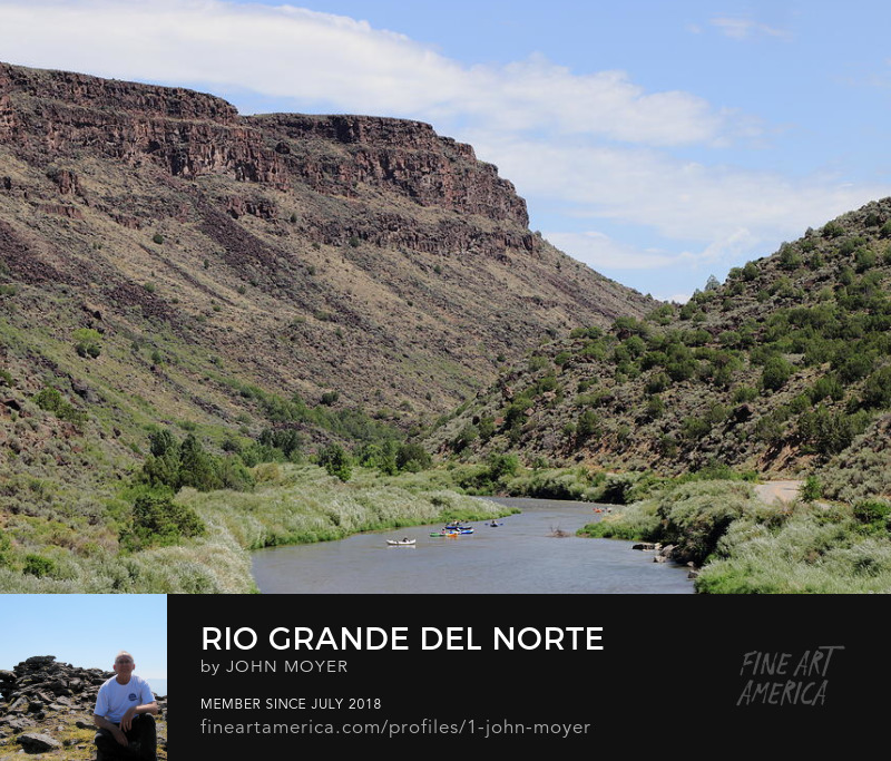 Rio Grande del Norte National Monument near Pilar, NM, Aug. 10, 2017