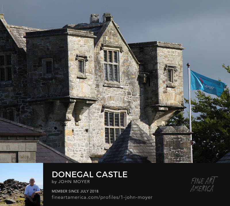 Donegal Castle, Donegal Town, County Donegal, Ireland, Aug. 4, 2013