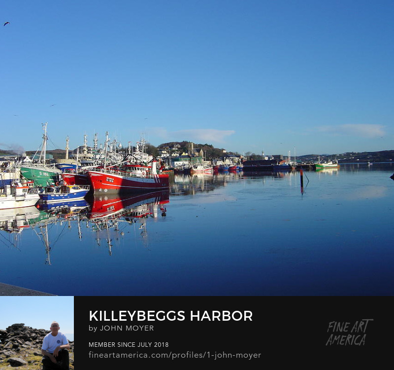 Killybegs, Donegal, Ireland on a fine January day in 2004