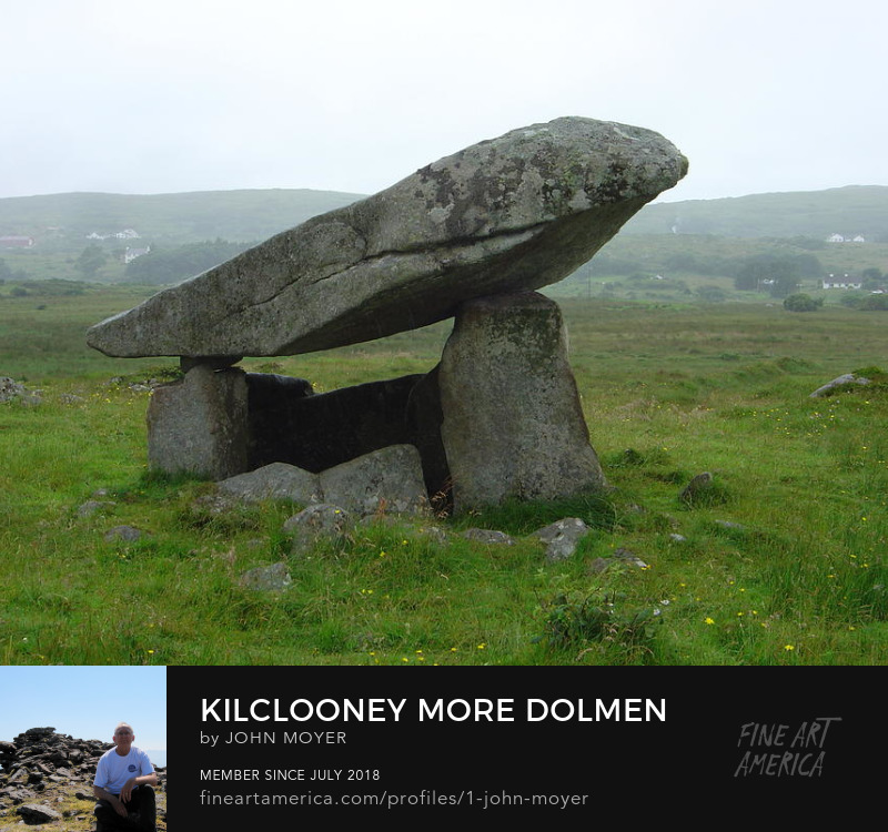 Kilclooney More Dolmen July 8, 2005