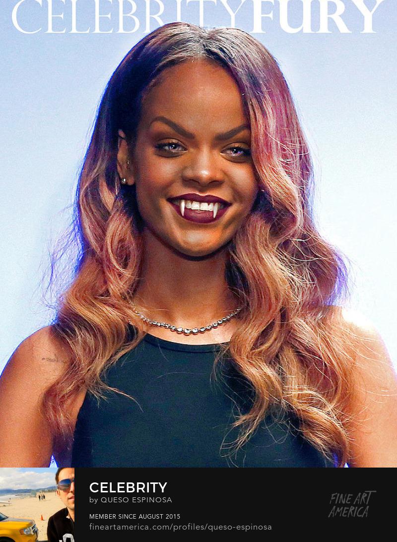 Art Prints Rihanna Rihanna displayartwork