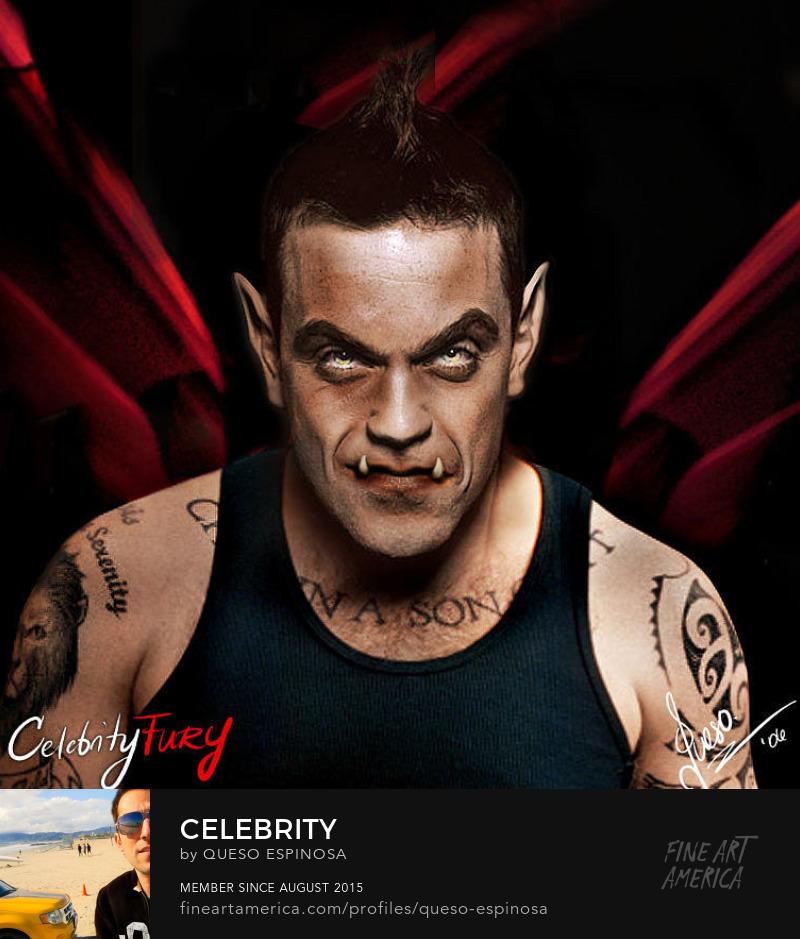 Photography Prints Robbie Williams Robbie Williams displayartwork
