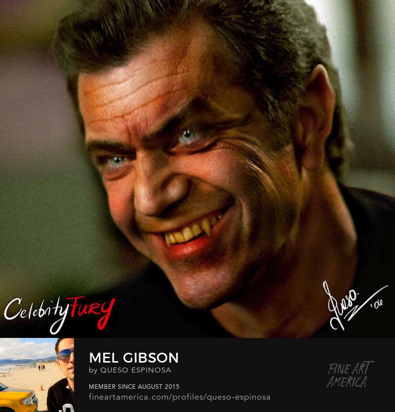 Art Prints Mel Gibson Mel Gibson displayartwork