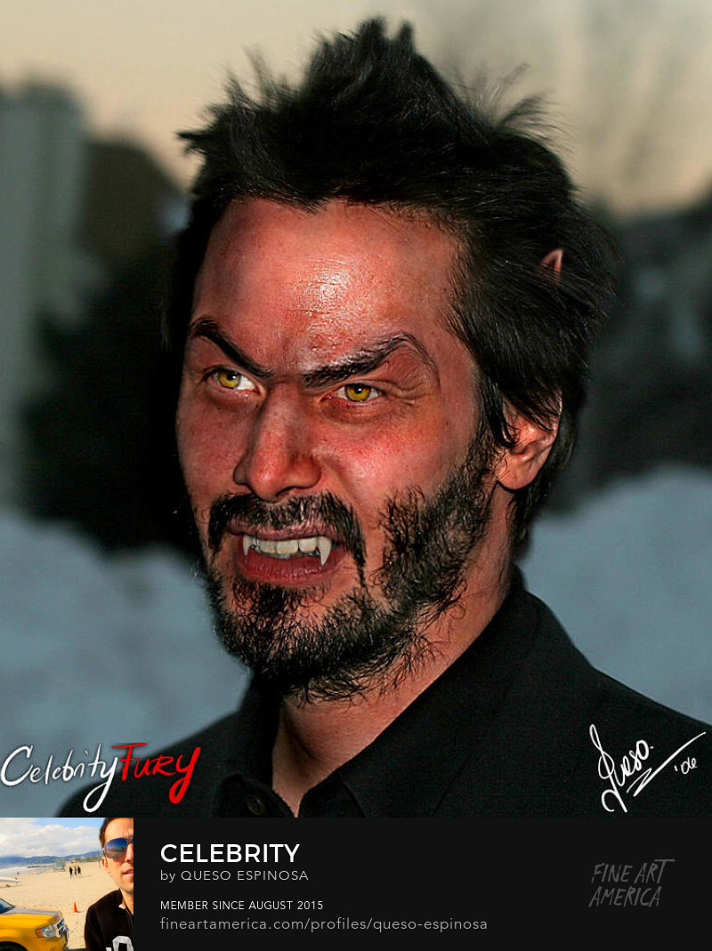 Sell Art Online Keanu Reeves Keanu Reeves displayartwork