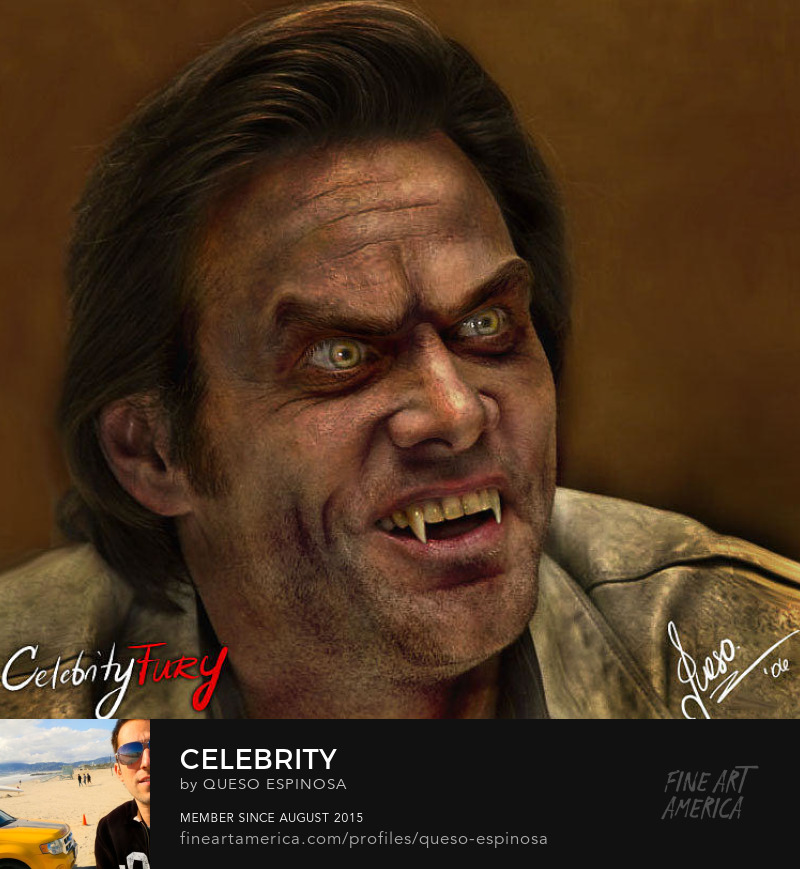 Art Prints Jim Carrey Jim Carrey displayartwork
