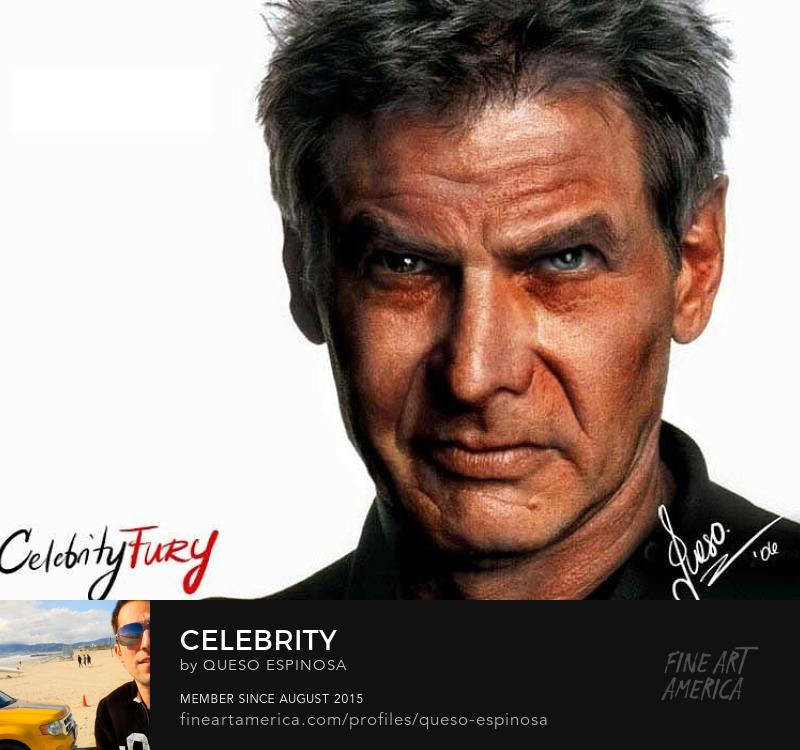 Art Prints Harrison Ford Harrison Ford displayartwork